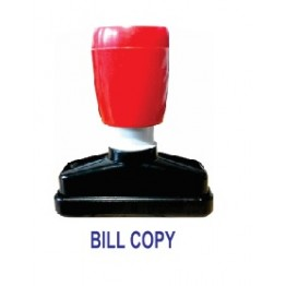 BILL COPY PRE INK STAMP
