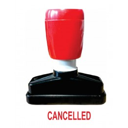 CANCELLED PRE INK STAMP