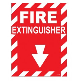 Fire Extinguisher Self Glow Board